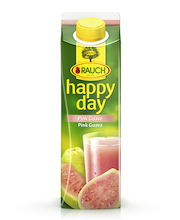 Happy Day pink guava nektar, 1 l