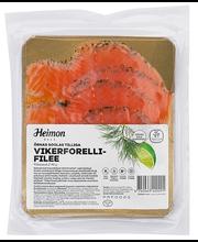 Õrnas soolas tilliga vikerforellifilee, viilutatud 90 g