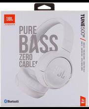 Kõrvaklapid JBL T500BT, valge
