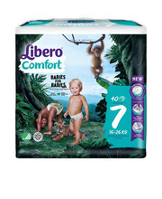 Libero Comfort 7 Teipmähe 16-26kg 40 tk.