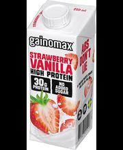 Proteiinijook maasika- vanilli, 0,25 l
