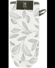ae9416cd2c8 Pajakinnas lehdet must/ valge 15x30 cm, 100% puuvill