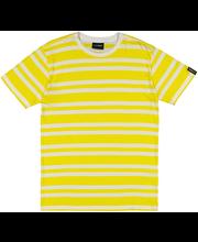 M t-särk la-keus kollane triip s