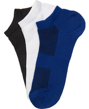 Meeste sokid 3-paari BM9022, sinine/valge/must 40-42