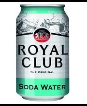 ROYAL CLUB SODA WATER