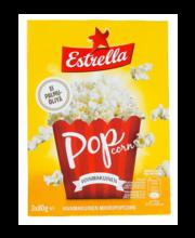Estrella Micropop võimatseline popkorn 3-pakk 240 g