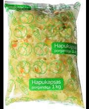 Hapukapsas porgandiga kotis, 1 kg