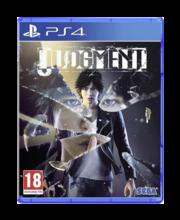 PlayStation 4 mäng Judgment