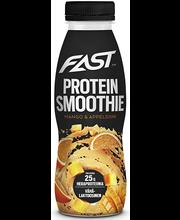 Proteiinismuuti mango-apelsini, 330 ml