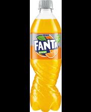 Fanta apelsini zero 500ml
