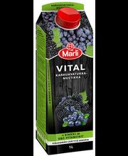 Marli Vital põldmarja-mustika mahlajook Tsink, D, C vitamiini...
