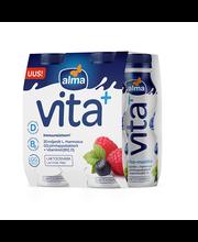 Jogurtijook vaarika-mustika, laktoosivaba 4x100 g