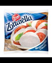 Mozzarella juust Zottarella, 125 g