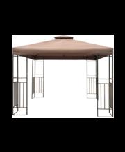 Paviljon House, 295 × 295 × 270 cm, pruun
