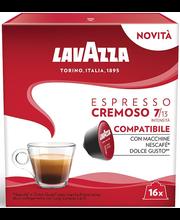 Lavazza espresso Cremoso kohvikapslid 16 tk, 128 g