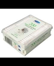 Vatitikud orgaanilised paberist 200tk karp