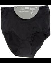 Naiste aluspüksid Maxi Basic 2 paari must, XXL