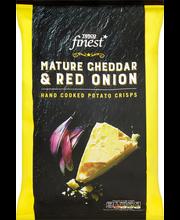 Kartulikrõpsud Cheddar juustu ja punase sibula maitselised 150 g