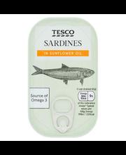 Sardiinid päevalilleõlis  120 g/84 g
