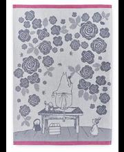 Köögirätik Muumimamma roosid 50x70 cm 2 tk