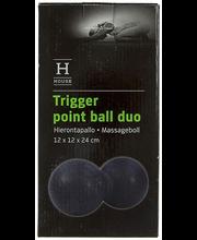 Massaažipall Duo 12×12×24 cm