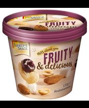 Pähklite ja puuviljade segu FRUITY&DELICIOUS, topsis 120 g