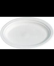 Taldrik Bioware ovaalne 20 tk, valge