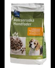 Täissööt koertele riisi ja lambalihaga 3 kg