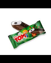 Väike Tom vanillijäätis pähklitäidise ja šokolaadiglasuuriga,...