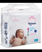 Natusan Baby Extra Sensitive niisked salvrätikud 224 tk