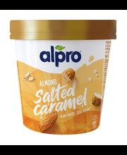 Vegan mandli-soolakaramelli jäätis, 500 ml