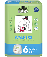 Muumi Baby püksmähkmed Walkers 6, 12-20 kg, 36 tk