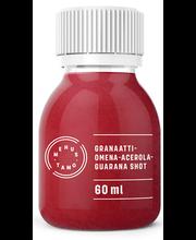 Granaatõuna-acerola-guarana shot 60 ml