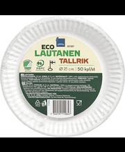 Eco Papptaldrik 15cm 50tk