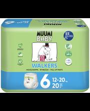 Muumi Baby püksmähkmed Walkers 6, 12-20 kg, 20 tk