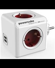 Allocacoc PowerCube Original USB harupistik, punane