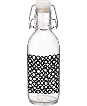 Klaaspudel Emilia 0,5 l must