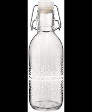 Klaaspudel Emilia 0,5 l valge