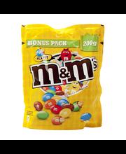 M&M´s pähklitega kommid 200 g