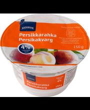 Virsiku kohupiimakreem, 150 g