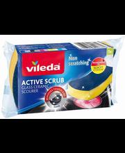 Vileda Active Scrub puhastuskäsn keraamilisele pliidile