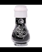 Must Küprose sool taimse aktiivsöega veskis 50 g