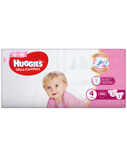Huggies mähkmed Ultra Comfort 4, Girl 8-14kg, 100 tk
