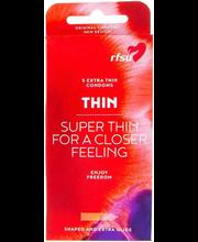Kondoomid RFSU Thin 5 tk