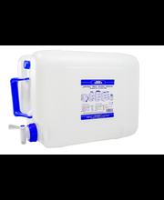 Veekanister kraaniga 20 l plast, valge