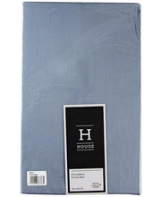 Voodilina kummiga  160x200x20 cm hall 100% puuvillasatiin