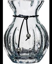 Vaas Pärlä 17cm, läbipaistev, klaas