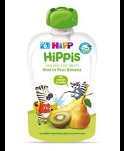 Hipp Hippis kiivi-pirni-banaanipüree 100 g, öko, alates 6-elu...