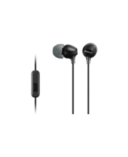 Nööpkõrvaklapid MDR-EX15AP, must