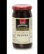 Mustad oliivid kividega Kalamata 360/210 g